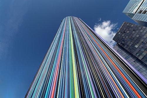 linee colorate verticali